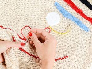 Anyák napi ötletek: ajándék hímzés