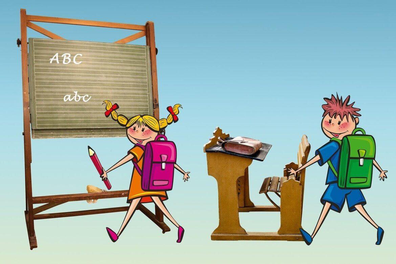 Iskolás tábla